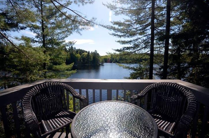 Cozy, peaceful lakefront cottage - Mountain Grove - Cabaña