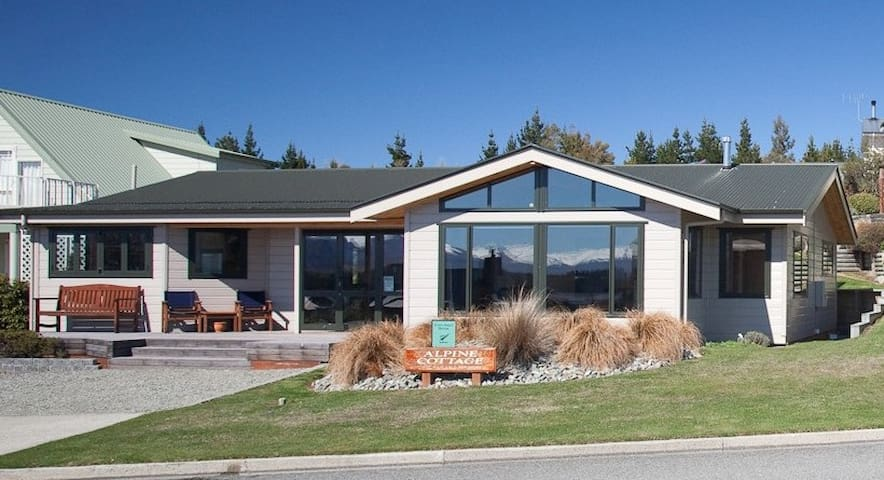 Luxury 3 bedroom cottage - Lake Tekapo - Maison