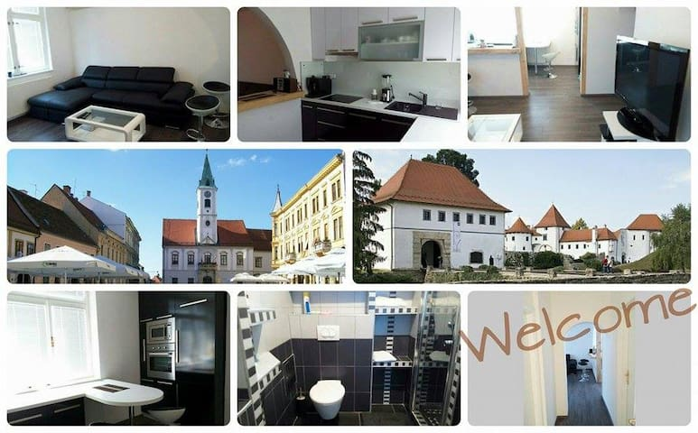 Modern apartment in the town center - Varaždin - Appartement