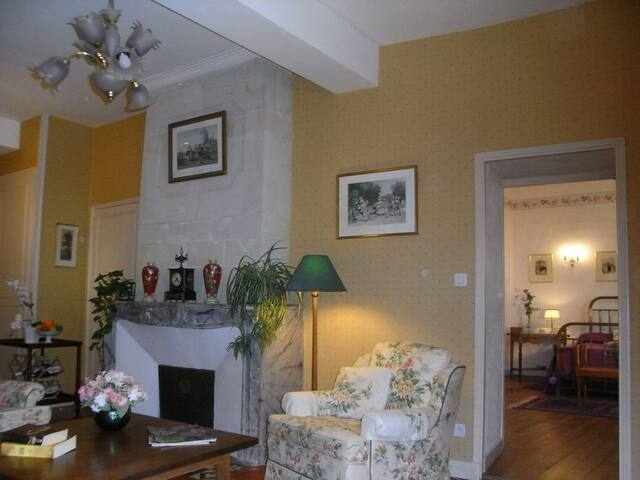 Cosy apartment for couples in town - Loudun - Daire