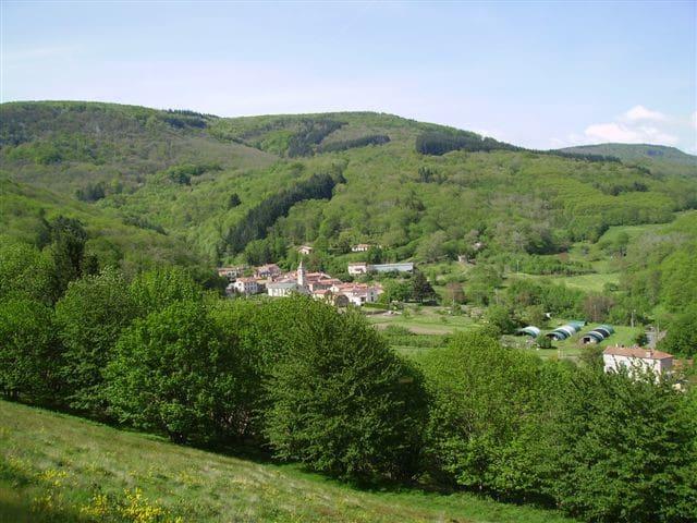 gîte la métairie basse herault languedoc - Courniou - Huis