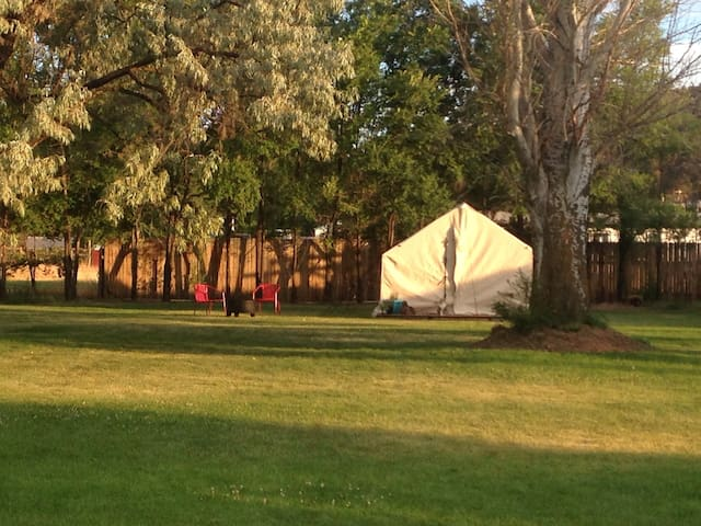 boutique camping, under new owners! - Terrebonne - Tent