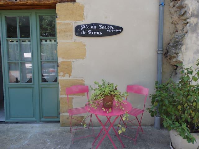 Gîte du Lavoir 3 * près de Bordeaux - Rions