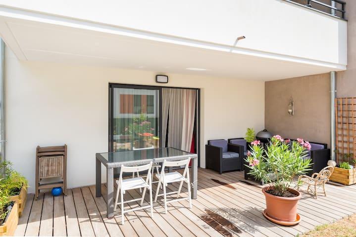Rez-de-Jardin en bord de Saône - Fontaines-sur-Saône - Appartement