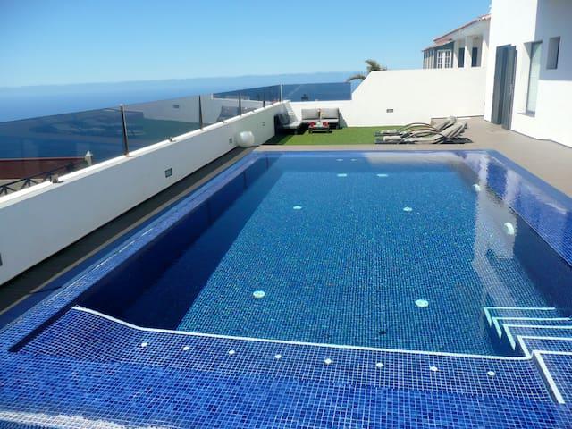Private pool, best views - El Sauzal - Dom