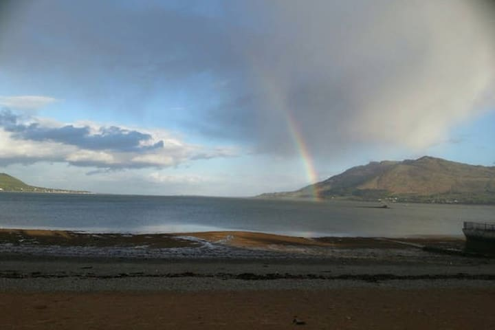 On the Beach, Victorian town house - Warrenpoint - 公寓