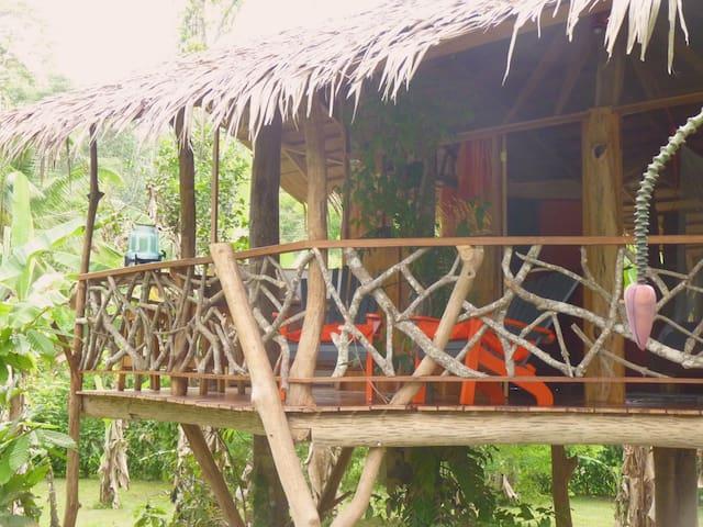 3 Bamboo Ecolodge - Tree House 3 pers - Cahuita - Trädhus