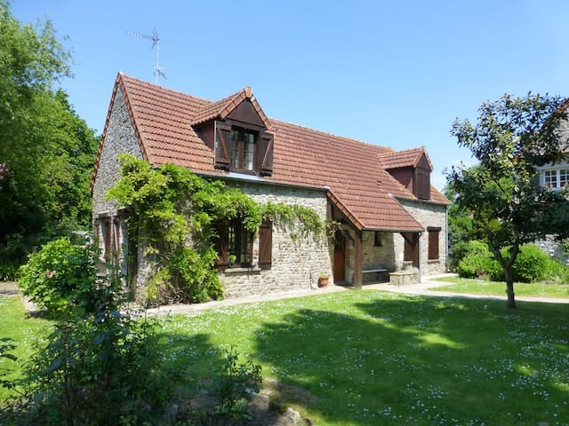 Stable Cottage - Close to beaches - Saint-Nicolas-de-Pierrepont - Haus