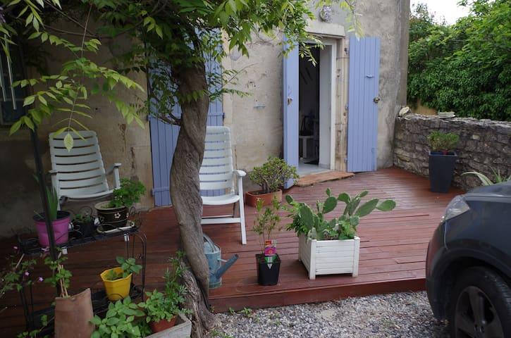 Joli appartement de plein pied - Saint marcel les Sauzet - Appartement