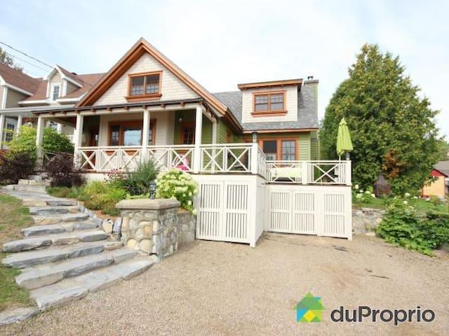 La Champêtre - Spa et foyer - La Malbaie - Chalet