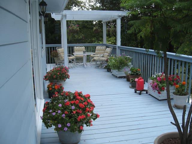 Waterfront Writer's Cottage (One Entire Floor) - Moneta - Apartamento
