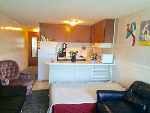 Convenient room by the IU Stadium - Bloomington - Apartemen