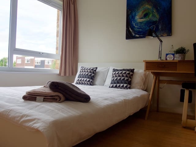 Double Bed in clean, modern flat - Londen - Appartement