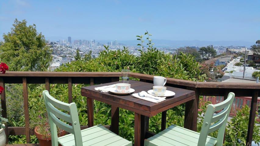 Peaceful  Noe Valley Refuge - San Francisco - Rumah