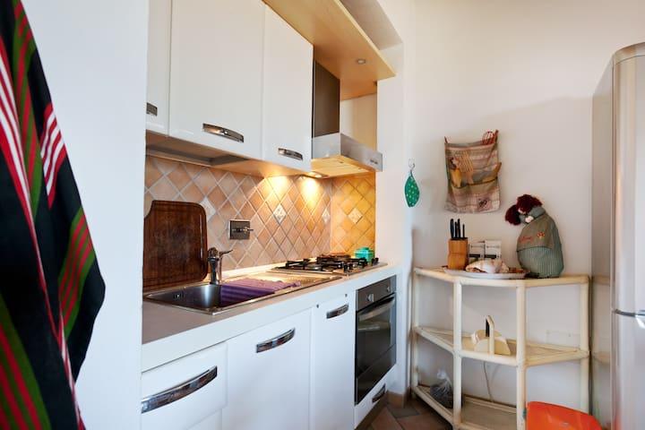 Grazioso app.in villa ristrutturata - Rosignano Marittimo - Departamento