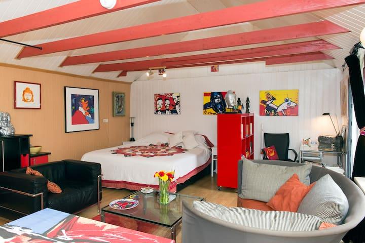 Vrijstaand vakantiehuis/B&B - Drouwenermond - Stuga