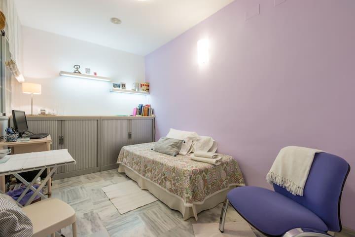 Bonita habitación cerca del centro - Granada - Daire
