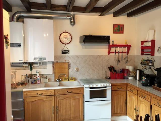 Maison en Bourgogne avec jardin - Malicorne - Maison