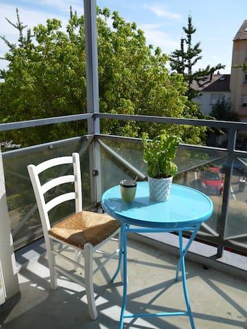 COMME CHEZ VOUS + PARKING GRATUIT - Longeville-lès-Metz - Apartamento