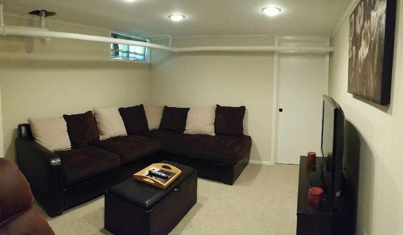 Cozy private apt. 1hr from NYC! - Huntington Station - Apartamento