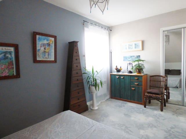 Chambre + petit dèj près d'angers - Cantenay-Épinard - Huis