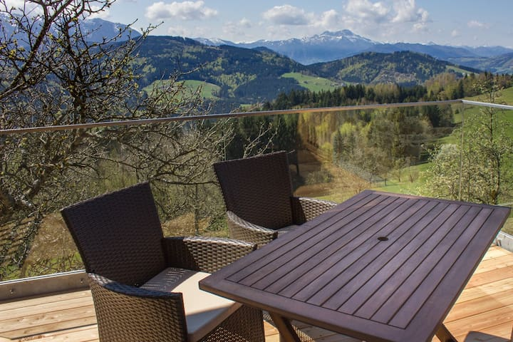 Apartment with a mountainview for 4 - Weyregg an Attersee - Daire