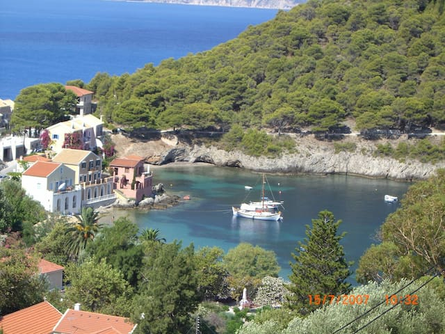 Double Room for Rent NIRIIDES Asos Kefalonia 2 - Άσος - Selveierleilighet