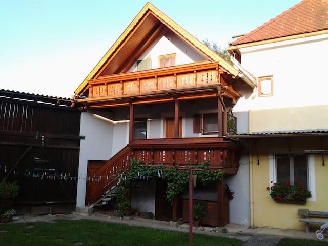 Ferienwohnung zum Wohlfühlen - Lödersdorf I - Daire
