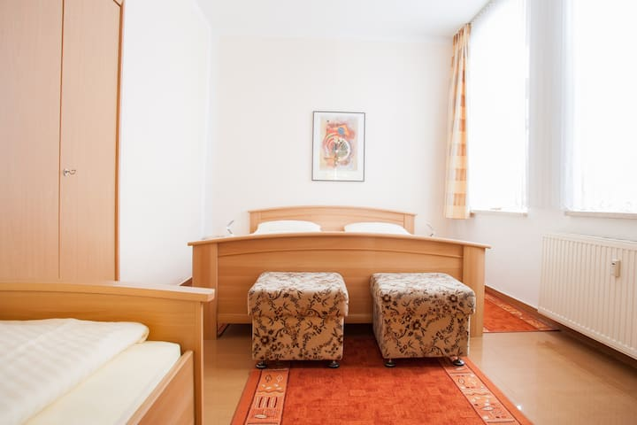 Holiday apartment for 2-5 persons - Torgau - Daire