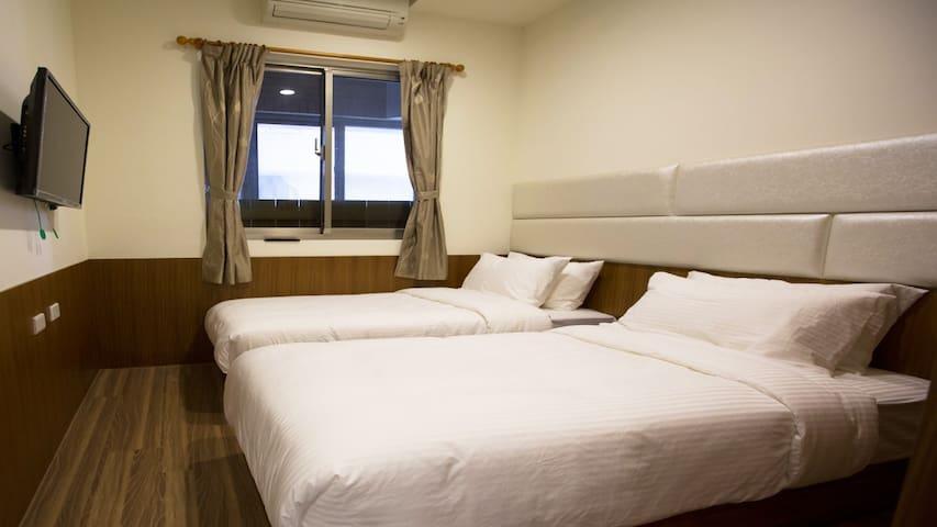 2床雙人房B·溫馨舒適·環境清幽·鄰近永寧捷運MRT交通便利 - Sanxia District - Leilighet
