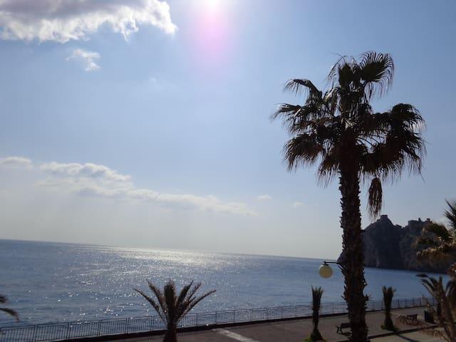 Una casa sul mare vicino Taormina! - Sant'Alessio Siculo - Wohnung