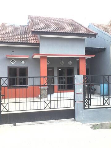 Home at City with view vilagge - Palembang