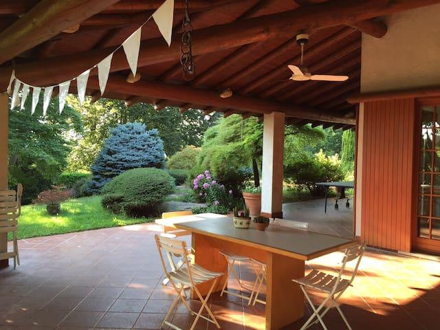 Mansion with pool Lake Maggiore - Cheglio (Taino) - 別荘