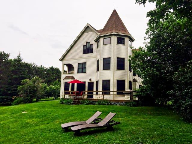 Lake Champlain lakefront house - South Hero - Hus