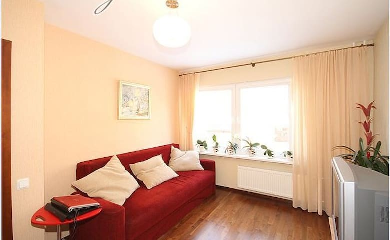 50m2 cozy apartment in Riga - Valdlauči - Apartemen