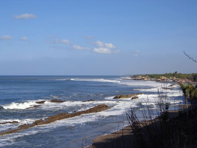 Panorama on the Pacific (Flat) - La Boquita - B&B