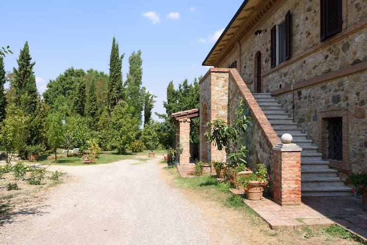 Elegant farmhouse Siena - Murlo - Apartament